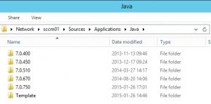JavaFolders